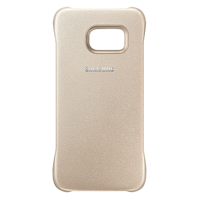 Samsung Protective Cover for Galaxy S6 edge; Gold (EF-YG925BFEGUS)