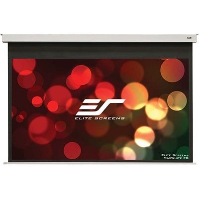 Elite Screens ® Evanesce B Series EB100VW2-E12 Electric Ceiling Projection Screen; 100