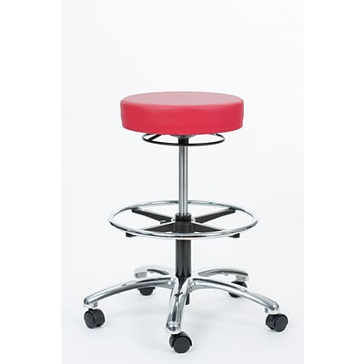 Brandt Industries 21.75 Rose Pneumatic Stool (17421RR-FR Rose)