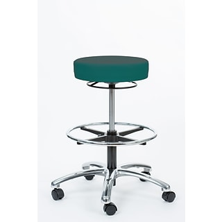 Brandt Inc 21.75 Teal Pneumatic Stool