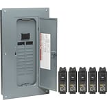 Square D 200 Amp Manual Transfer Switch with Remodel Value Load Center