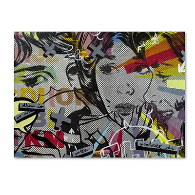 Trademark Fine Art That There Is by Dan Monteavaro 14 x 19 Canvas Art (ALI0964-C1419GG)
