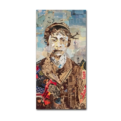 Trademark Fine Art Babyface I by Ines Kouidis 12 x 24 Canvas Art (ALI0998-C1224GG)
