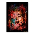 Trademark Fine Art Marilyn Monroe VII by Mark Ashkenazi 24 x 32 Canvas Art (ALI1013-C2432GG)