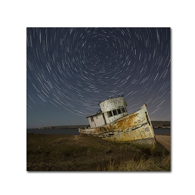 Trademark Fine Art Point Reyes I by Moises Levy 24 x 24 Canvas Art (ALI1114-C2424GG)