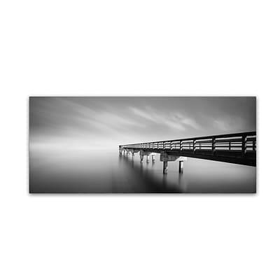 Trademark Fine Art Infinity Panoramic by Moises Levy 8 x 19 Canvas Art (ALI1117-C819GG)