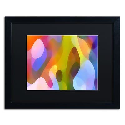 Trademark Fine Art Dappled Light 6 by Amy Vangsgard 16 x 20 Black Matted Black Frame (AV0104-B1620BMF)