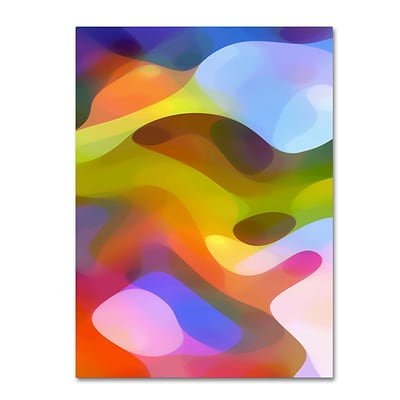 Trademark Fine Art Dappled Light 7 by Amy Vangsgard 14 x 19 Canvas Art (AV0105-C1419GG)