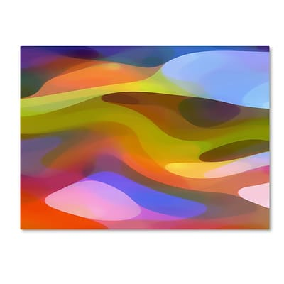 Trademark Fine Art Dappled Light 9 by Amy Vangsgard  24 x 32 Canvas Art (AV0108-C2432GG)