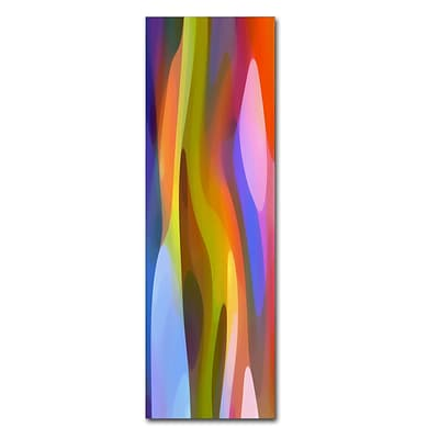 Trademark Fine Art Dappled Light Panoramic Vertical 1 by Amy Vangsgard  10 x 32 Canvas Art (AV0114-C1032GG)