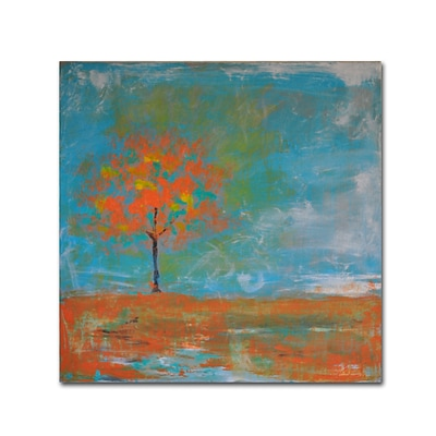 Trademark Fine Art Autumn by Nicole Dietz 18 x 18 Canvas Art (ND088-C1818GG)