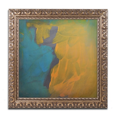 Trademark Fine Art Rogue by Nicole Dietz 16 x 16 Ornate Frame (ND099-G1616F)
