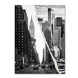 Trademark Fine Art Downtown City by Philippe Hugonnard 24 x 32 Canvas Art (PH0093-C2432GG)