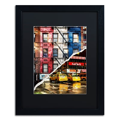 Trademark Fine Art American Colors by Philippe Hugonnard 16 x 20 Black Matted Black Frame (PH0101-B1620BMF)
