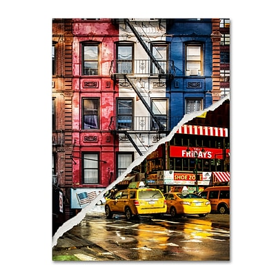 Trademark Fine Art American Colors by Philippe Hugonnard 35 x 47 Canvas Art (PH0101-C3547GG)