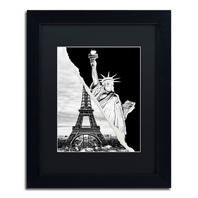 Trademark Fine Art Architectural Grandeur by Philippe Hugonnard 11 x 14 Black Matted Black Frame (PH0109-B1114BMF)