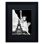 Trademark Fine Art Architectural Grandeur by Philippe Hugonnard 16 x 20 Black Matted Black Fra