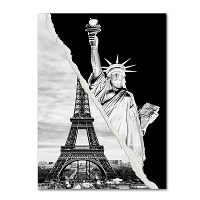 Trademark Fine Art Architectural Grandeur by Philippe Hugonnard 24 x 32 Canvas Art (PH0109-C2432GG)