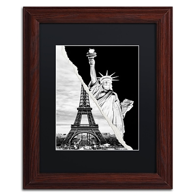 Trademark Fine Art Architectural Grandeur by Philippe Hugonnard 11 x 14 Black Matted Wood Frame (PH0109-W1114BMF)