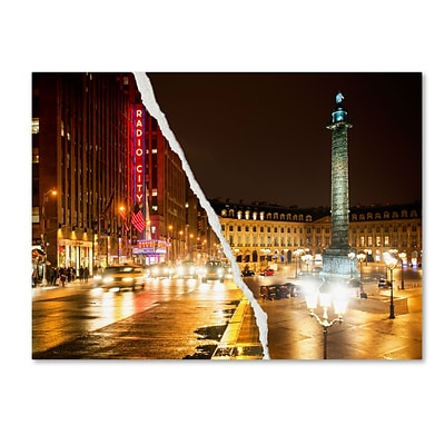 Trademark Fine Art Colors Overnight by Philippe Hugonnard 24 x 32 Canvas Art (PH0111-C2432GG)