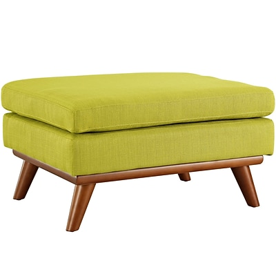 Modway Engage Fabric Ottoman, Wheatgrass (EEI-1797-WHE)