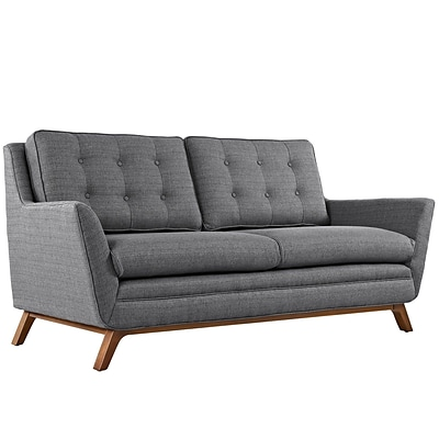 Modway Beguile 71.5W Fabric Loveseat; Gray (EEI-1799-DOR)