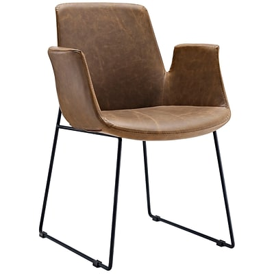 Modway Aloft 23.5 Fabric Armchair, Brown (EEI-1806-BRN)