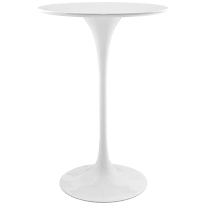 Modway 28L Wood Dining Table; White (EEI-1825-WHI)