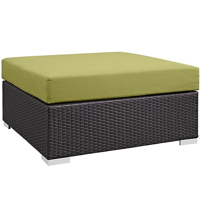 Modway Convene Outdoor Patio Square Ottoman (EEI-1845-EXP-PER)