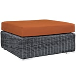 Modway Summon Outdoor Patio Square Ottoman