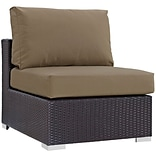 Modway Convene 35 Fabric Armless Brown