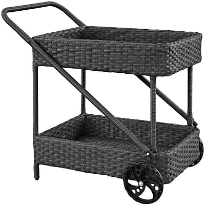Modway Sojourn Outdoor Patio Beverage Cart (EEI-1979-CHC)