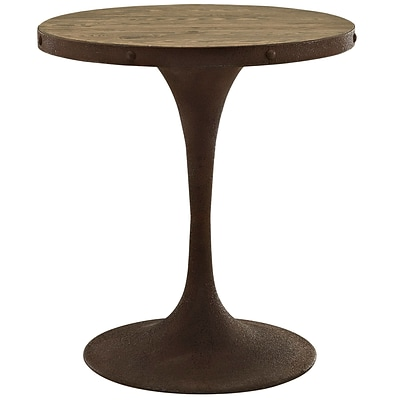 Modway 28L Wood Top Dining Table; Brown (EEI-2006-BRN-SET)
