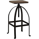 Modway Pointe 33H Barstool; Brown