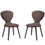 Tempest Dining Side Chair Walnut Brown 1