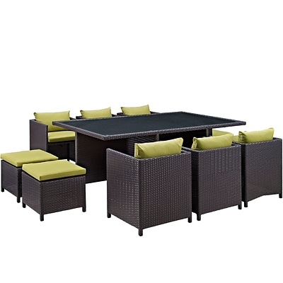 Modway Reversal Outdoor Patio Dining Set (EEI-644-EXP-PER-SET)