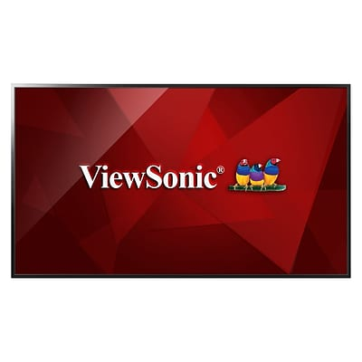 ViewSonic® CDE4302 43 Full HD Direct-lit LED Display Monitor