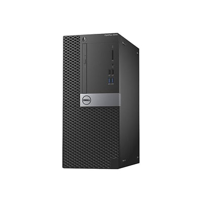 Dell™ Optiplex CW1FR 3040 Desktop Computer Core i3 6100 3.7Ghz, 500GB, 4GB RAM, Black