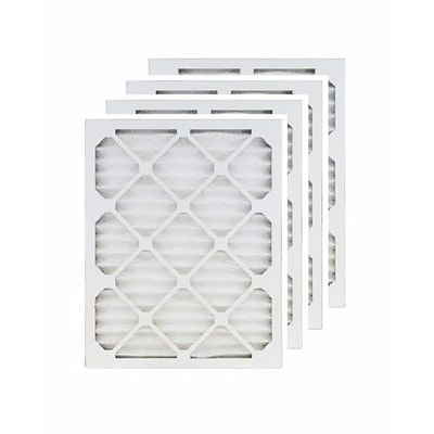 Brighton Professional™ MERV 11 24 x 24 x 1/23.38 x 23.38 Pleated Air Filter; 4/Pack (FA24X24N_4)