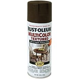 Rust-Oleum 12 oz. Stops Rust Multicolor Textured Aerosol Paint, Autumn Brown