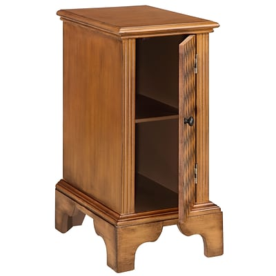 Stein World Morrison 30.5 Accent Cabinet; Brown (13213)