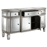 Stein World Gabrielle 36.5 Sideboard Antique Silver Leaf (13277)
