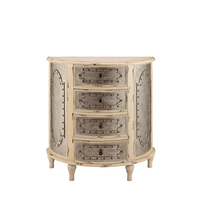 Stein World Jassiem 34.25 Accent Chest Antique aged cream (13369)