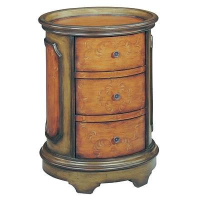 Stein World Natalie  Accent Table; Antique Green, Brown (42530)