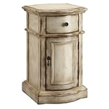 Stein World Heidi 25 Accent Cabinet; Brown, Antique White (57272)