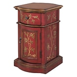 Stein World Reia 25 Accent Cabinet; Antique Red, Brown (58527)