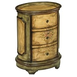 Stein World Dover  Accent Table; Antique Green, Brown (64166)