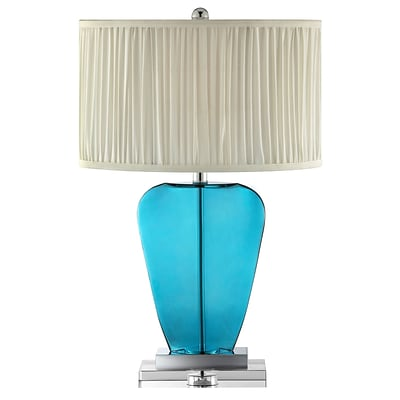 Stein World 100 Watt Matira Table Lamp; Teal Blue (99848)