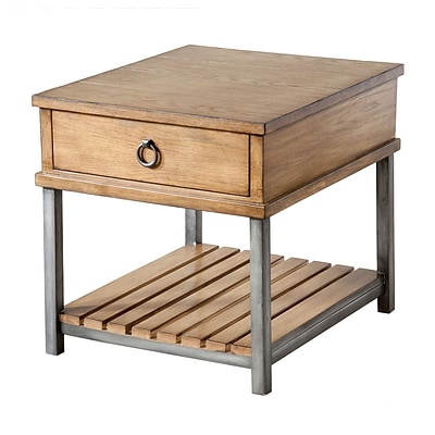 Stein World Beaumont  End Table; Withered Oak (263-021)