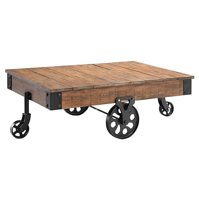Stein World Popular Estates Cocktail Table; Reclaimed Wood (390-019)